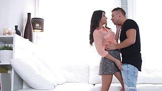 Cum affectionate Russian fixture Arianna fucked by her boyfriend