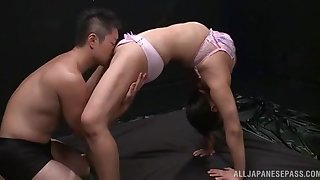 Soft oral porn for a changeable amateur Japanese with nice tits