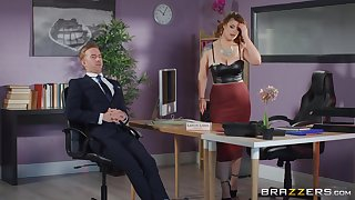 Rough sex with the thick ass office MILF during a business meeting s