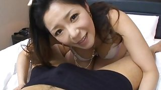 Natural chest Japanese MILF Ayane Asakura gets fucked here missionary