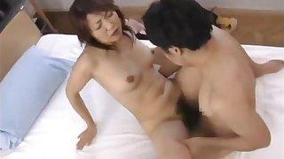 Horny japanese mature babes sucking part5