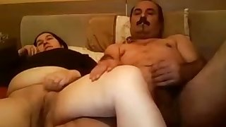 Horny Turkish tramp fucks a chubby prostitute in missionary position